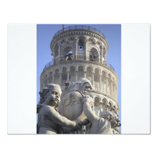 Leaning Tower of Pisa Invitations