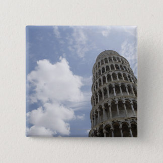 Leaning Tower of Pisa, Italy 3 Pinback Button