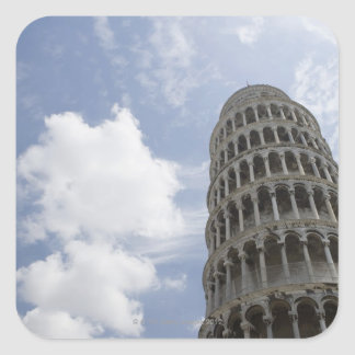 Leaning Tower of Pisa, Italy 3 Square Sticker
