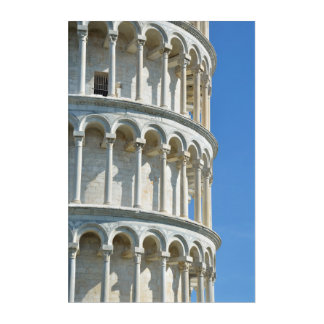 Leaning tower of Pisa, Italy Acrylic Print