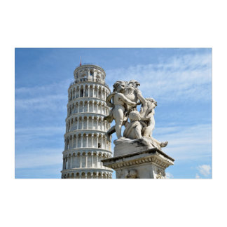 Leaning tower of Pisa, Italy Acrylic Wall Art
