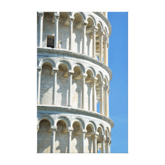 Leaning tower of Pisa, Italy Canvas Print
