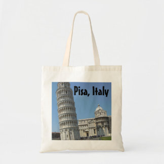 Leaning Tower of Pisa Italy Tote Bag