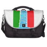Leaning Tower of Pisa Laptop Messenger Bag