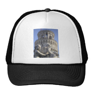 Leaning Tower of Pisa Mesh Hat