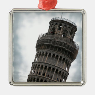 Leaning Tower of Pisa Metal Ornament