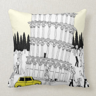Leaning Tower of Pisa Pillow