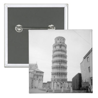 Leaning Tower of Pisa Pinback Button