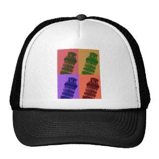 Leaning Tower of Pisa Pop Art Trucker Hat