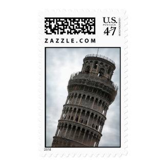 Leaning Tower of Pisa Postage Stamps