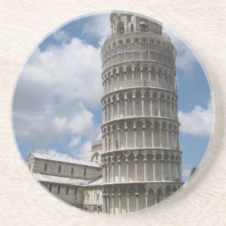 Leaning Tower Of Pisa Sandstone Coaster