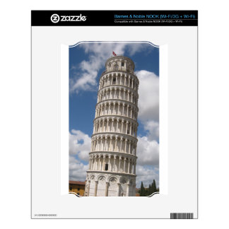 Leaning Tower of Pisa Decal For NOOK