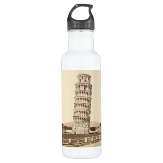 Leaning Tower of Pisa Stainless Steel Water Bottle
