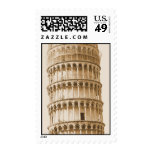 Leaning Tower of Pisa Stamps