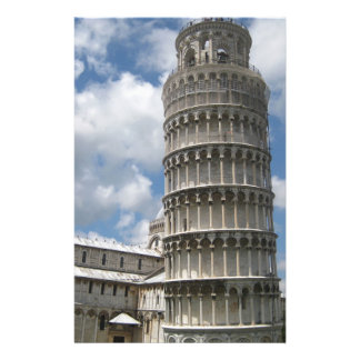 Leaning Tower Of Pisa Stationery