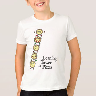 Leaning Tower of Pizza T-Shirt