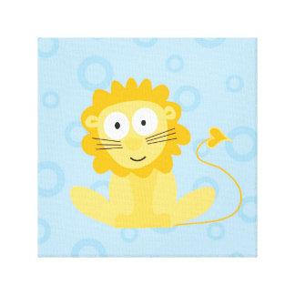 leanne_the lion canvas print