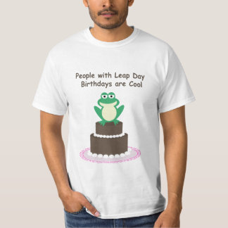 Leap Day Birthday Shirt