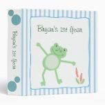 Leap Frog Froggy Baby Photo Album Scrapbook Binder