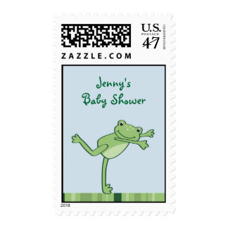Leap Frog Froggy Postage Stamp