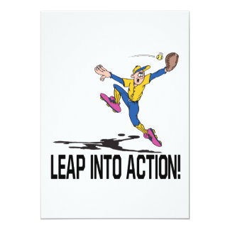 Leap Into Action Card