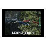 Leap of Faith - Bungee Jumping Poster