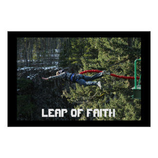 Leap of Faith - Bungee Jumping Posters
