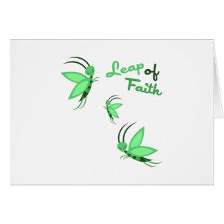 Leap of Faith Cards