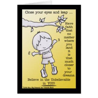 Leap of Faith Card