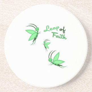 Leap of Faith Drink Coasters