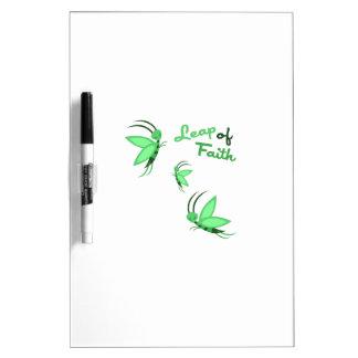 Leap of Faith Dry Erase Whiteboards