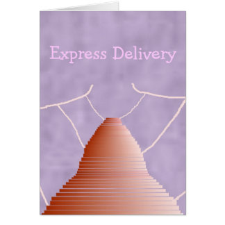 Leap Of Faith Express Delivery Card