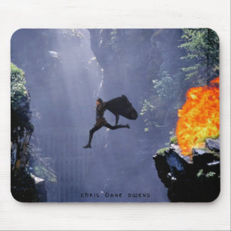 LEAP OF FAITH - Mouse Pad