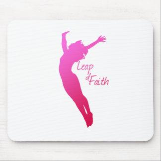 Leap of Faith Mouse Pad