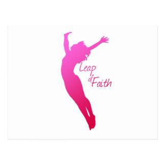Leap of Faith Postcard