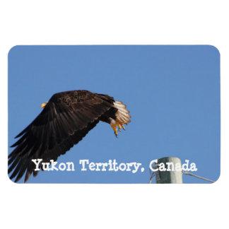 Leap of Faith; Yukon Territory Souvenir Magnet