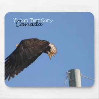 Leap of Faith Yukon Territory Souvenir Mousepad