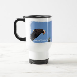 Leap of Faith; Yukon Territory Souvenir Travel Mug