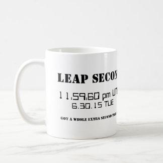 Leap Second 2015 Custom Custom Mug