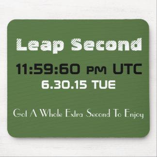 Leap Second 2015 Custom Mousepad
