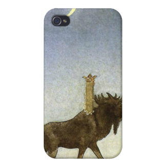 Leap the Elk and Princess Tuvstarr by John Bauer iPhone 4 Cover