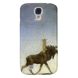 Leap the Elk and Princess Tuvstarr by John Bauer Samsung Galaxy S4 Case