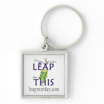 LEAP THIS Necklace Keychain