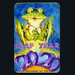 """LEAP YEAR 2020 MAGNET<br><div class=""""desc"""">Leap Year Day February 29 is everyone's extra day. Celebrate Leap Day with Leap Year Day stuff. You don't have to have a Leap Year Day birthday, but if this is for a Leap Day baby, you rock! Born on February 29, then this is for you. Or maybe you married...</div>"""