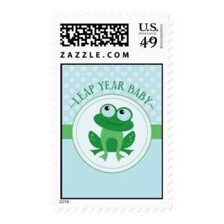 Leap Year Baby Boy Postage