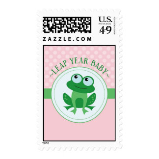 Leap Year Baby Girl Postage