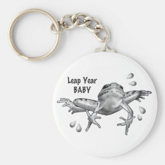 Leap Year Baby: Leaping Frog in Pencil Keychain