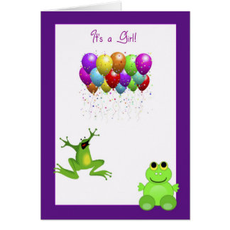 Leap Year Birth Announcement Stationery Note Card