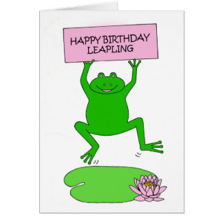 February 29th Birthday Cards Invitations Greeting Photo Cards
