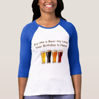 leap year birthday T-Shirt
